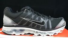 New Nike Air Max 2009 Mens Running Sneaker Size 9.5 Trainer Shoes Black Gre
