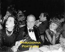 WILLIAM RANDOLPH HEARST RITA HAYWORTH & HEDY LAMARR 8x10 Lab Photo Rare Portrait