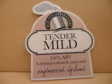 Box Steam Brewery Tender Mild Ale Beer Pump Clip face Bar Collectible 62
