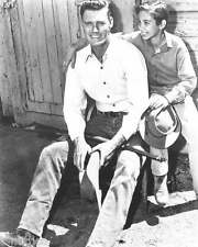 Chuck Connors The Rifleman Johnny Crawford 8x10 Photo 005