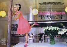 Coupure de presse Clipping 2008 Daphné Guinness (6 pages)