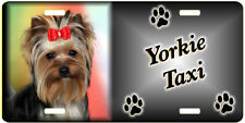 Yorkshire Terrier 3  Taxi Line License Plate (( LOW CLEARANCE PRICE ))