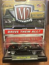 M2 Machines Auto-Thentics  1960 Chrysler 300F  black