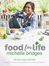 NEW Food For Life By Michelle Bridges Paperback Free Shipping