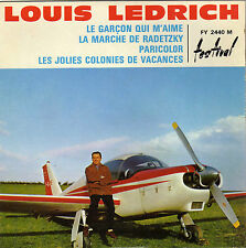 LOUIS LEDRICH PARICOLOR FRENCH ORIG EP POCHETTE AVION