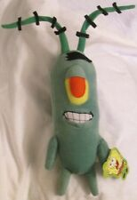 "SpongeBob Square Pants One Eyed PLANKTON 15"" Plush Figure"
