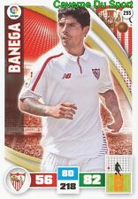 295 EVER BANEGA ARGENTINA SEVILLA.FC INTER CARD ADRENALYN LIGA 2016 PANINI