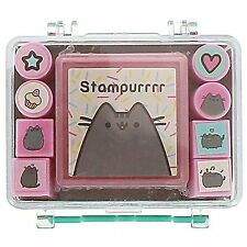Pusheen the Cat Stamper Set Cute Kawaii Gift School College Stationery