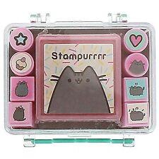 Pusheen the Cat Stamper Set Cute Kawaii Gift School College Stationery