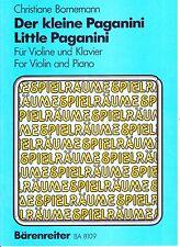 NEUF ! Little Paganini partition violon & piano