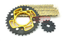 Honda Grom Gold Sprocket and Chain set 34T 14T MSX125 Sprockets