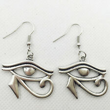 New 1 pair Free shipping Fashion Antique silver Jewelry  evil eye earring #G2