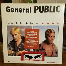 ●GENERAL PUBLIC●ALL THE RAGE●LP●c1984●IRS●SP-70046●RARE DEMO●THE ENGLISH BEAT●