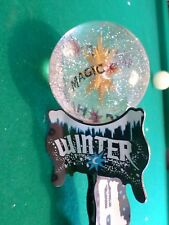 "Excellent Magic Hat Crystal Ball Winter Howl 12"" Beer Keg Tap Handle Marker"