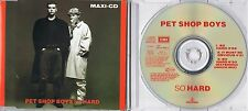 Pet shop boys-aussi Hard-MAXI CD-Extended Dance Mix-it must be obvious