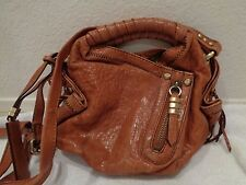 """Oryany """"Heather""""  Camel tan brown Leather Crossbody Bag-great condition!"""