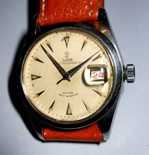 VINTAGE GENTS TUDOR ROLEX PRINCE OYSTERDATE 34 AUTOMATIC WATCH/ WORKING