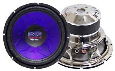 """NEW 12"""" DVC SubWoofer Speaker.dual 4ohm voice coil.twelve inch bass sub.Car.12in"""