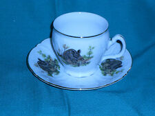 *WILDLIFE *WILD BOAR *BERNADOTTE *CZECH REPUBLIC *FINE CHINA *TEA CUP & SAUCER