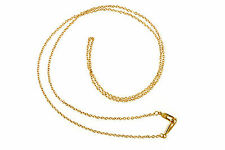 """NEW JAMES AVERY 14K LIGHT CABLE CHAIN, 20"""""""