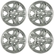 "Chrome Wheel Skins / Hubcaps 16"" fits Toyota RAV4 Highlander Suzuki Grand Vitara"