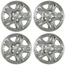 """Chrome Wheel Skins / Hubcaps 16"""" fits Toyota RAV4 Highlander Suzuki Grand Vitara"""