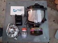 Scott Gas Mask CBRN Kit w/Pwr Voice Amp 40mm NATO Filter & Potassium Iodide NEW!