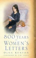 800 Years of Women's Letters, By Kenyon, Olga,in Used but Acceptable condition