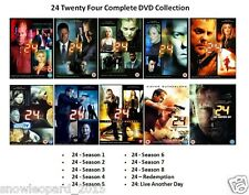 24 TWENTY FOUR COMPLETE SERIES 1 2 3 4 5 6 7 8 9 DVD LIVE ANOTHER DAY