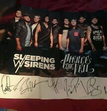 pierce the veil sleeping with sirens poster the world tour
