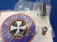 50049-36 CHROME KICK STAND MOUNT BRACKET JIFFY STAND HARLEY DAVIDSON BIG TWIN