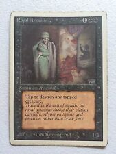 MTG 1x Royal Assassin UNLIMITED Old School Commander Magic Gathering x1 Played