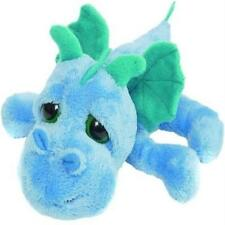 SUKI TOYS LIL PEEPERS  FIRESTORM BLUE MEDIUM DRAGON SOFT TOY NEW GIFT