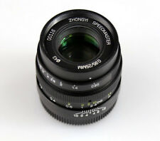 Mitakon Speedmaster 25mm F/0.95 MF Lens for Micro 4/3 MFT Mount OM-D GH4 BMPCC
