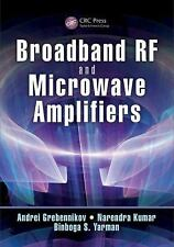 BROADBAND RF AND MICROWAVE AMPLIFIERS - NEW HARDCOVER BOOK