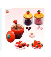"Re-Ment ""Strawberry World"" #2, Chocolate Fondue,1:6 minis Barbie dollhouse scale"
