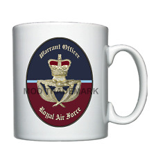 RAF Warrant Officer Badge  -  Personalised Mug
