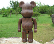 200%(14.5cm) Wood Bearbrick Be@rbrick Made w/ Black Walnut Wood