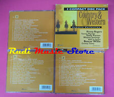 CD COUNTRY & WESTERN Compilation COLLECTION BOX 3 CD no mc vhs dvd(C40)