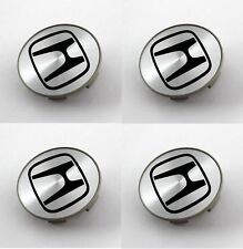 4 x Roue Argent HONDA 58mm center cap Civic CRV Accord Odyssey Acura pilote