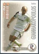 SHOOT OUT 2006-2007-BOLTON WANDERERS & GREECE-STELIOS GIANNAKOPOULOS