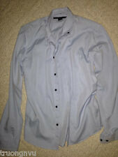 Men Marc Jacobs Blue Button Down Long Sleeve Shirt Small S Rare