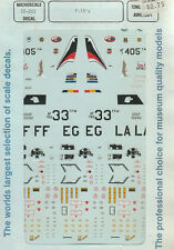 1/72 MicroScale Decals F-15A Eagle Col Musser 58 59 60 TFS 33 TFW 405 TW 72-283