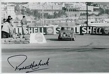 Paddy Hopkirk Hand Signed 12x8 Photo Mini Cooper Rally 1.