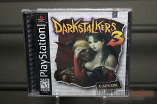 Darkstalkers 3 (PlayStation 1, PS1 1998) FACTORY Y-FOLD SEALED! - ULTRA RARE!