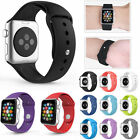 Fitness Silicone Wrist Watch Strap Band Replacement Belt For Apple Watch 38/42mm
