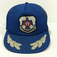 Vintage Thunderbird Texas Civil Air Patrol TX-179 CAP Hat Jet Military Air Force