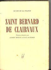 SAINT BERNARD DE CLAIRVAUX.