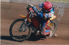 ANDREW TULLY HAND SIGNED SCUNTHORPE SCORPIONS SPEEDWAY 6X4 PHOTO 4.