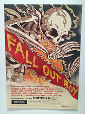 FALL OUT BOY Australian Tour Poster 2013 Infinity On High Save Rock & Roll **NEW